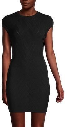 Balmain Bodycon Knit Dress