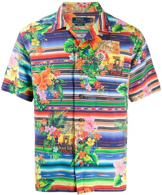 Polo Ralph Lauren Short Sleeve Multi-Print Shirt