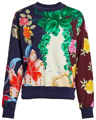 Etro Floral Cotton Sweatshirt