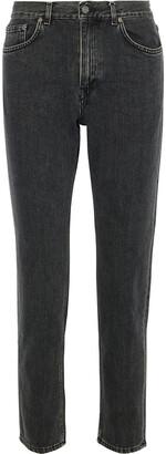 Acne Studios Faded High-rise Straight-leg Jeans