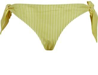 Jack Wills Womens Tallian Tie Side Pants Yellow