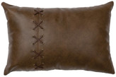 Wooded River Inc Leather Pillow 12x18-Leather Back