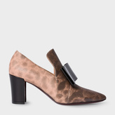 Paul Smith Women's Taupe Snakeskin 'Belvoir' Shoes