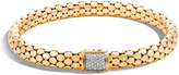John Hardy Dot Bracelet with Diamonds