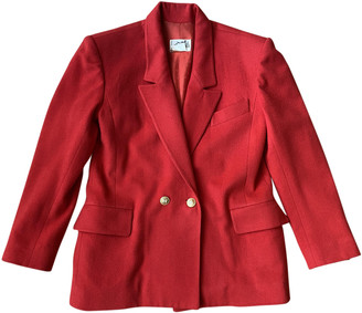 Hermes Red Cashmere Jackets