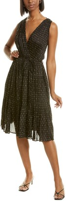 Mes Demoiselles Balsan Silk Midi Dress