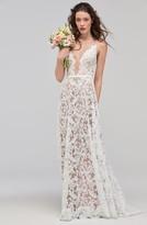 ASA Willowby Sleeveless V-Neck Lace & Tulle Wedding Dress
