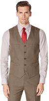 Perry Ellis Subtle Pattern Twill Suit Vest