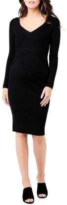 Ripe Sadie Rib Knit Nursing Dress