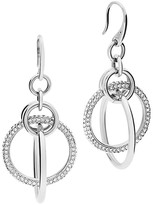 Michael Kors Pavé Orbital Link Drop Earrings