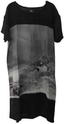 Designers Remix Black Silk Dress for Women