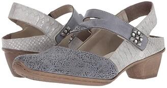 Rieker 49770 Mirjam 70 (Jeans/Shark) Women's Shoes