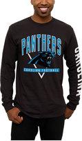 Junk Food Clothing Men's Carolina Panthers Nickel Formation Long Sleeve T-Shirt