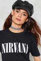 Nasty Gal Check On It Gingham Choker