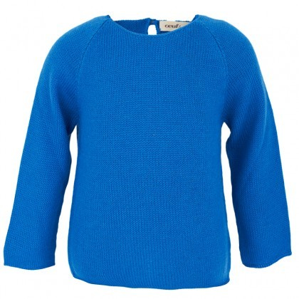 Oeuf Blue 'I See You' Sweater