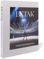 Phaidon Betak: Fashion Show Revolution Hardcover Book - Gray