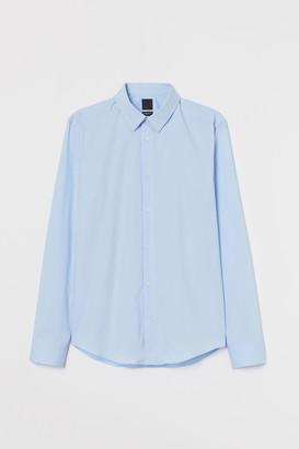 H&M Slim Fit Stretch Shirt