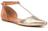 Calvin Klein Ghita T-Strap Ballet Flats