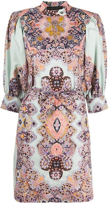 Etro Kaleidoscope Print Dress