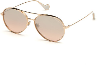 Moncler Aviator Metal Sunglasses