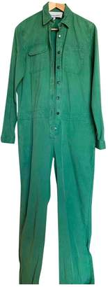 Green Cotton Margaux Lonnberg Jumpsuit for Women