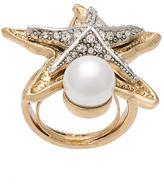 Oscar de la Renta 'Pave Sea Star' ring