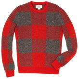 Original Penguin Birdseye Buffalo Plaid Sweater