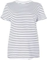 Topshop MATERNITY Stripe Roll Back T-Shirt