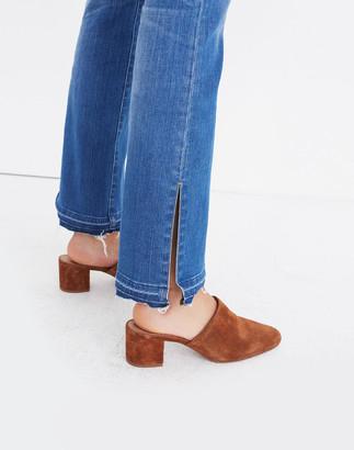 Madewell Cali Demi-Boot Jeans: Split-Hem Edition