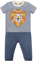 Monsoon Newborn Leo Lion Top & Joggers Set