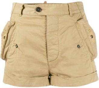 DSQUARED2 Mid-Rise Short Shorts