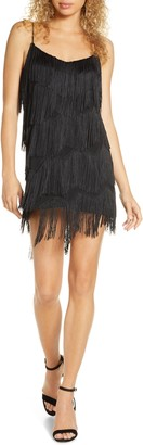 Finders Keepers Ana Fringe Minidress
