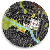 notNeutral Austin Porcelain City Plate