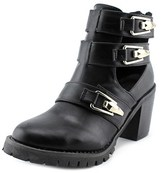 Wanted Sochi Women Round Toe Leather Ankle Boot.