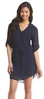 Amy Byer A Byer A. Byer Drawstring Waist Shirt Dress