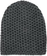 Inverni chunky wool knit beanie - women - Cashmere - One Size
