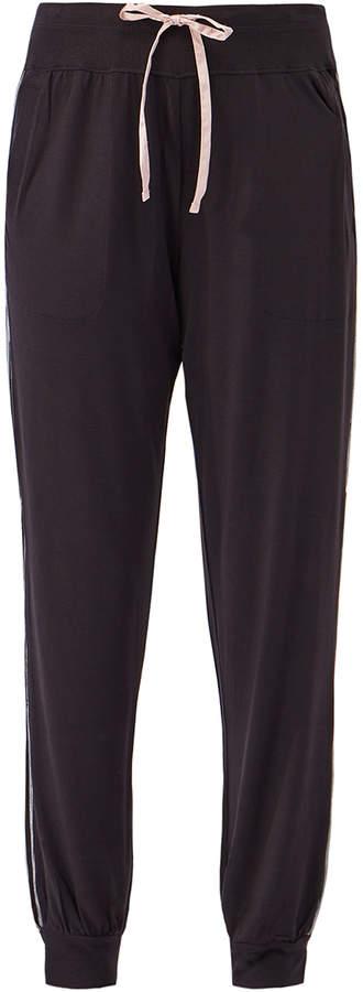 DKNY Sleepwear Black Ankle Sleep Jogger Pants