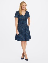 Draper James Collection Tweed A-Line Dress