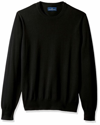 Buttoned Down Men's Supima Cotton Lightweight Crewneck Sweater