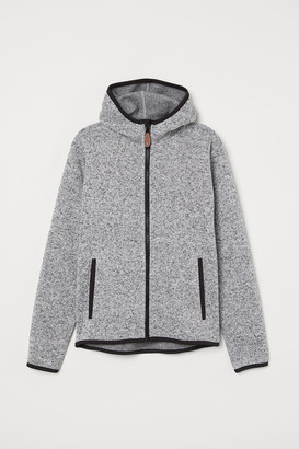 H&M Knit Fleece Jacket