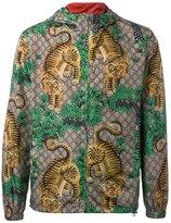 Gucci Bengal tiger print jacket - men - Polyamide/Polyester/Fluorocarbon Resin - 48