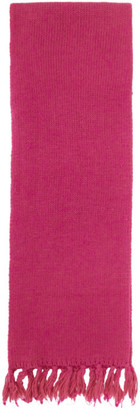 Our Legacy Pink Fringed Scarf