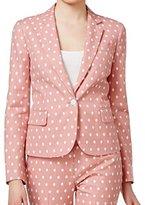 Anne Klein Women's Dot Jacquard Howard Hawks Jacket