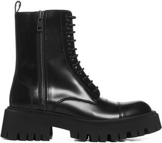 Balenciaga Tractor Side-Zip Boots