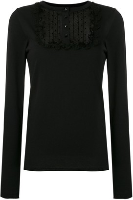 Andrea Bogosian lace panels Ramira T-shirt