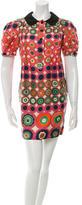 See by Chloe Silk Pleated Dress