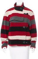 Etoile Isabel Marant Striped Wool Jacket