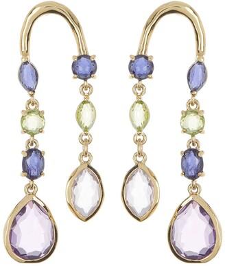 Ippolita 18K Rock Candy Arch Drop Earrings