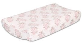 The Peanut Shell The Grace Floral Changing Pad Cover Bedding