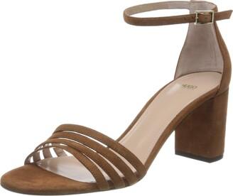HUGO BOSS Women's April 60-s Ankle Strap Sandals